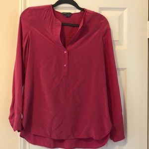 Vince size 4 silk top